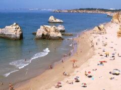Felsformation-Algarven