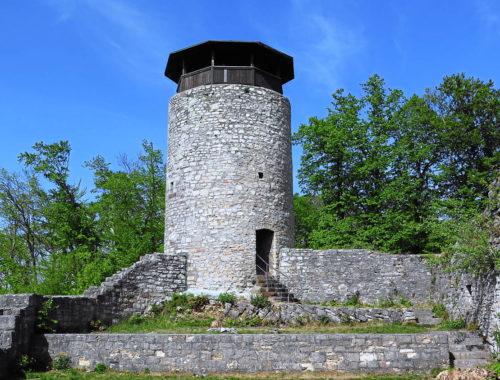 Wartenberg Muttenz<br>die 3 Burgen