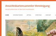 Ansichtskartensammler Vereinigung Schweiz
