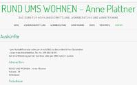 Rund ums Wohnen - Anne Plattner
