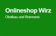 Wirz Obstbau und Brennerei, Onlineshop